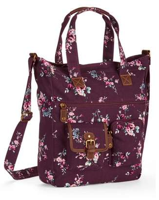 Time and Tru Lois Buckle Tote