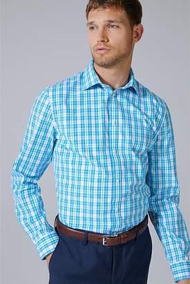Country Road Slim Multi Gingham Travel Shirt
