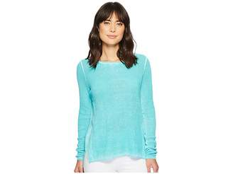 Elliott Lauren Thermal Stitch Stone Wash Sweater Women's Sweater