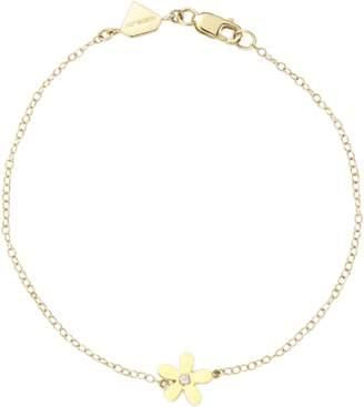 Alison Lou Single Wildflower Bracelet