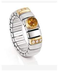 Nomination Women's Ring N.Y. Small Amber