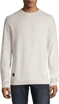 Point Zero Textured Crew Neck Sweater