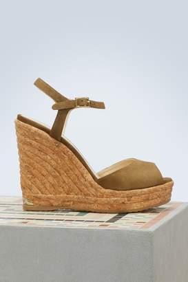 Jimmy Choo Perla 120 sandals