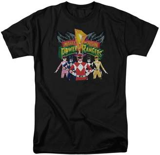 Power Rangers Mens Rangers Unite T-Shirt