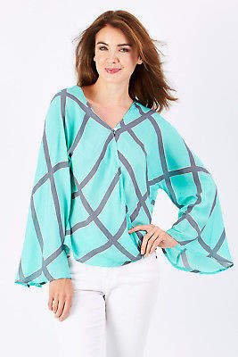Holiday NEW Womens Blouses Vani Top Size M Malu - Tops
