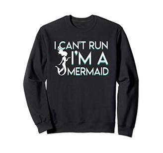 I Cant Run Im A Mermaid Women Gifts Shirt