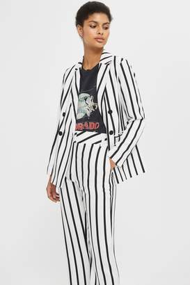 Topshop Humbug Stripe Slouch Trousers