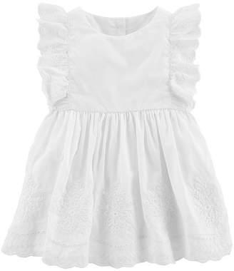 Osh Kosh Oshkosh Short Sleeve A-Line Dress - Baby Girls