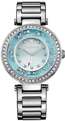 Juicy Couture Women's 1901330 Crystal-Accented Stainless Steel Watch $139 thestylecure.com
