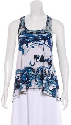 Jean Paul Gaultier Sleeveless Printed Top