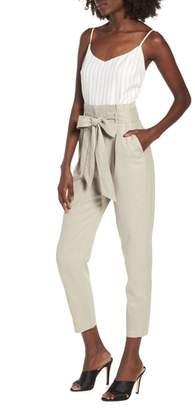 Leith Tie Waist Crop Jumpsuit