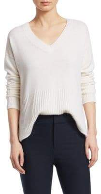 Derek Lam 10 Crosby Core V-Neck Cashmere Sweater