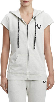 4f48d57e85c3 Short Sleeve Hoodie For Women - ShopStyle