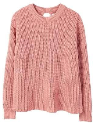 MANGO Decorative side slit sweatshirt