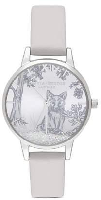 Olivia Burton Snow Globe Watch, 30mm