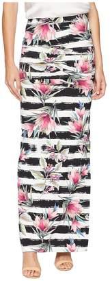 Nicole Miller Tidal Pleat Maxi Skirt Women's Skirt