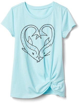 Embellished beach knot tee $24.95 thestylecure.com