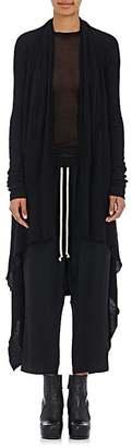 Rick Owens Women's Long Cascade Cashmere Cardigan $1,360 thestylecure.com