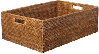 OKA Rattan Delta Storage Box, Large