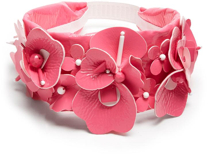 Miu MiuMIU MIU Embellished floral headband