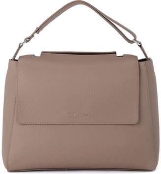 Orciani Sveva Medium Tove Tumbled Leather Handbag