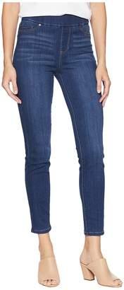 Liverpool Sienna Pull-On Ankle in Silky Soft Stretch Denim in Elysian Dark Women's Jeans