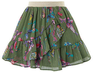Monsoon Flutter Skirt