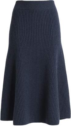 Agnona (アニオナ) - Agnona リブ編み カシミヤ スカート