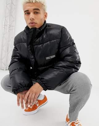 Cheap Monday Puffer Jacket Black