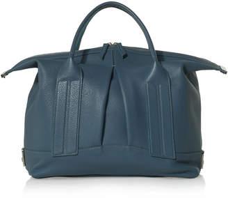 Joanna Maxham Cast Away Denim Leather Satchel