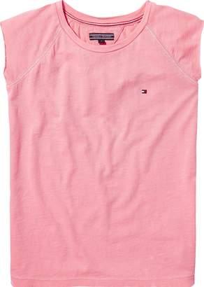 Tommy Hilfiger Girls Short Sleeve Logo Tee
