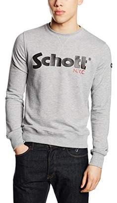 Schott NYC Men's Jonas Long Sleeve Sweatshirt