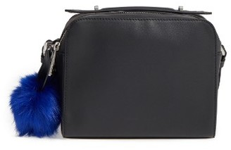 Kendall + Kylie Lucy Leather Crossbody Bag - Black $250 thestylecure.com