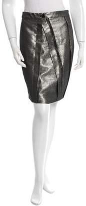 Proenza Schouler Metallic Pencil Skirt