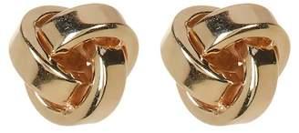 KARAT RUSH 10K Yellow Gold Love Knot Earrings