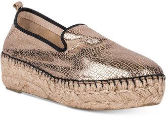 Andre Assous Indi Platform Espadrille Slip-On Flats Women's Shoes $159 thestylecure.com