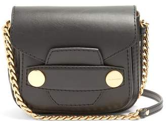 Stella McCartney Stella Popper Faux Leather Cross Body Bag - Womens - Black