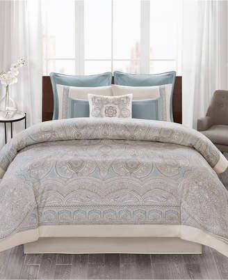 Echo Larissa 3-Pc. Cotton Full/Queen Duvet Cover Set Bedding