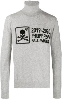 Philipp Plein 20th Anniversary turtleneck sweater