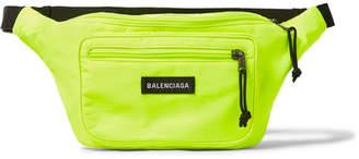 Balenciaga Explorer Logo-Appliquéd Ripstop Belt Bag