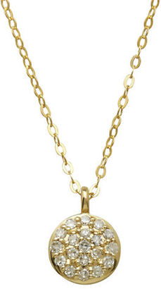 Lord & Taylor Diamond And 14K Yellow Gold Pendant Necklace $450 thestylecure.com