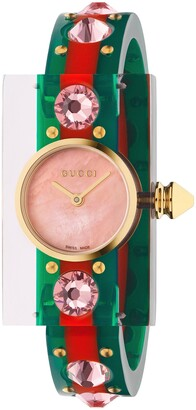 Gucci Vintage Web Bangle Watch, 24mm x 40mm