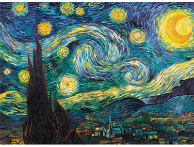 Wayfair Starry Night by Vincent Van Gogh Giclee Print Reproduction
