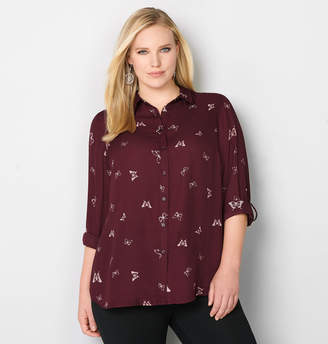 Avenue Butterfly Printed Shirt