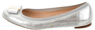 Kate SpadeKate Spade New York Leather Bow Flats
