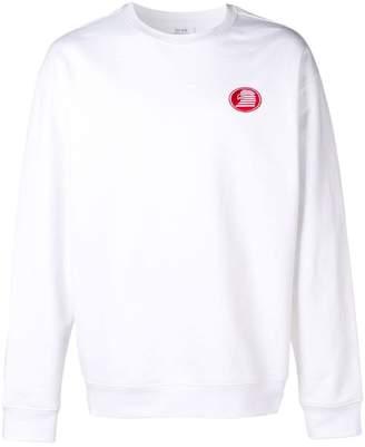 Calvin Klein Jeans Est. 1978 modernist eagle logo sweatshirt