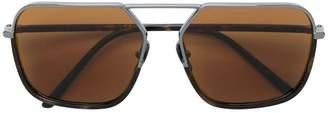 Dolce & Gabbana Eyewear pilot framed sunglasses