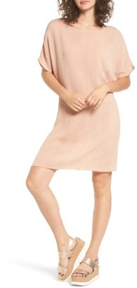 Women's Cotton Emporium Woven Shift Dress $35 thestylecure.com
