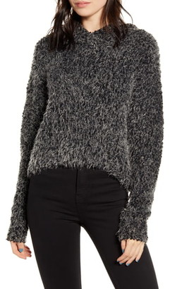 LIRA Posey Textured Hooded Sweater