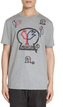 Moncler Genius by Maglia Allover Graphic T-Shirt